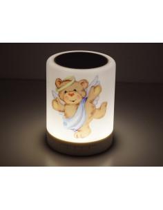 Kolorowa lampka LED z głośnikiem Bluetooth z funkcją koloru rytmu muzyki