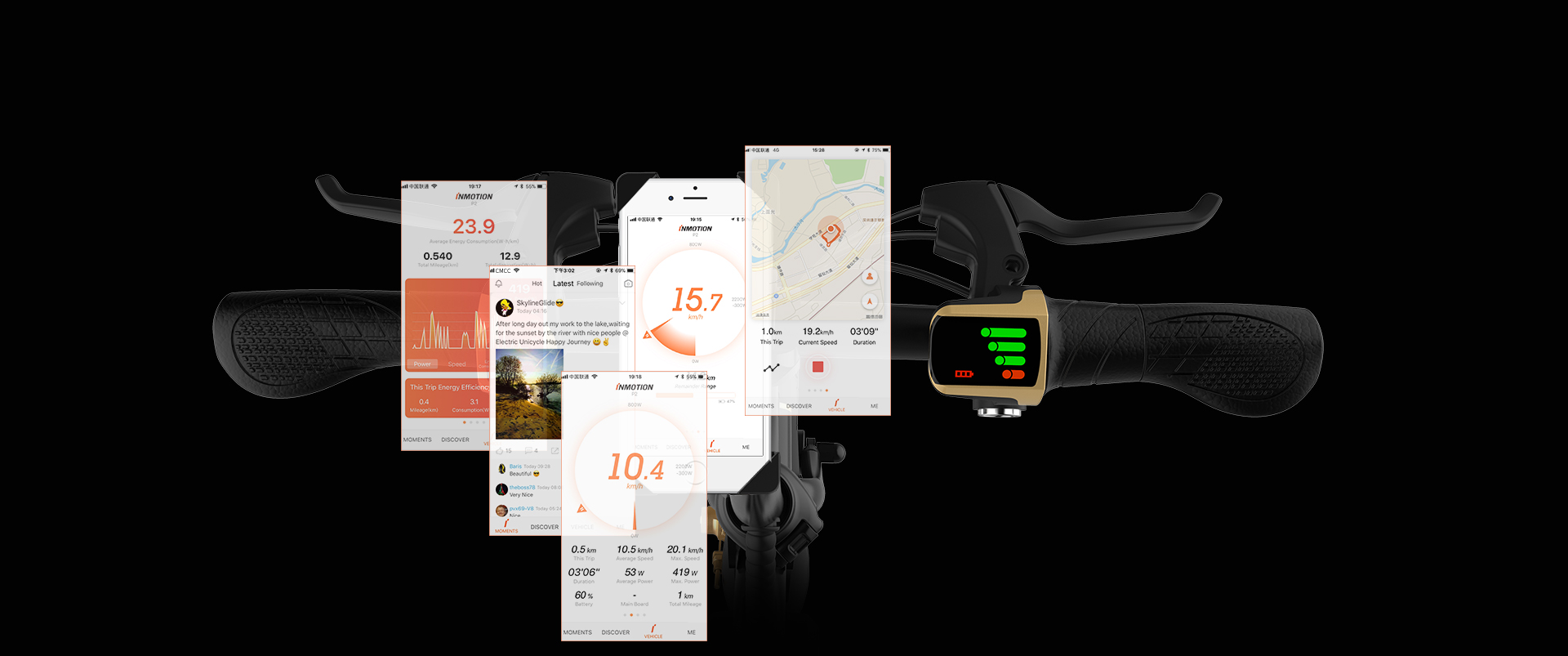 InMotion P2 App